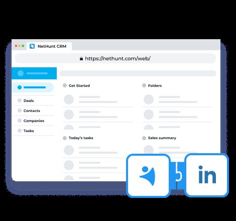 Se lanzó la integración de LinkedIn, la aplicación web y la nueva funcionalidad.